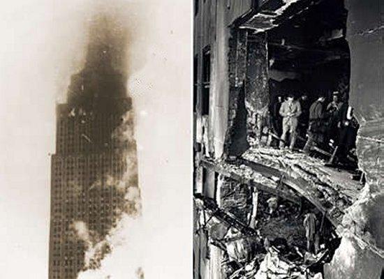 Plane Crashes in...B 52 Crash Empire State Building